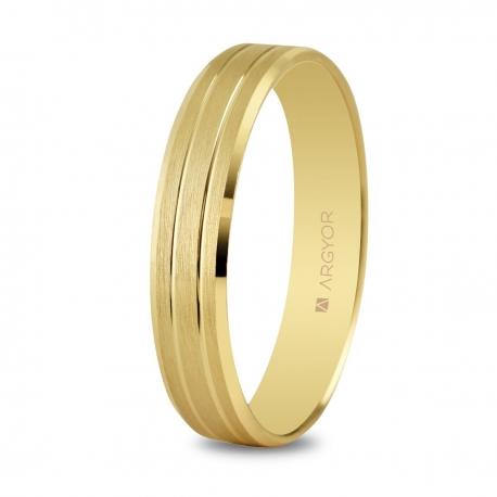 Alianza de boda 4mm oro 5140436