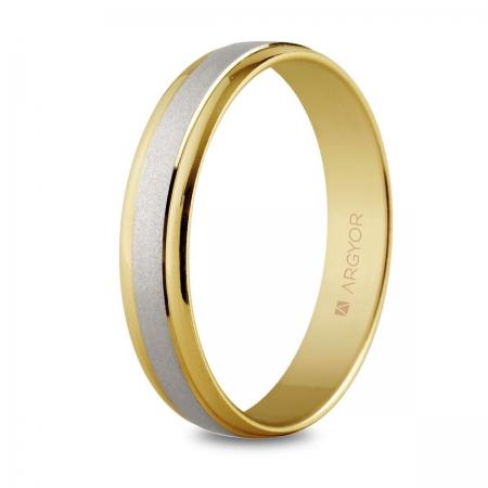 Alianza de boda 2oros 5240044