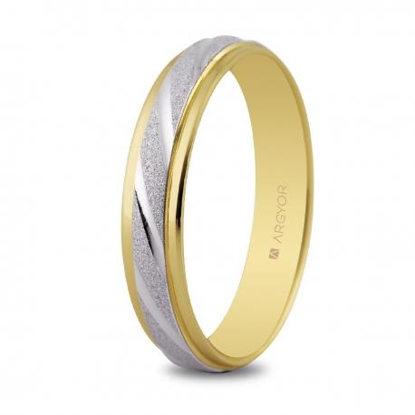 Alianza de boda 2oros 5240136