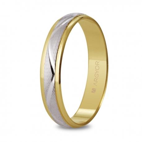 Alianza de boda 2oros 5240138