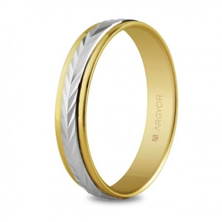 Alianza de boda 2oros 5240283