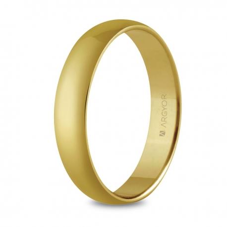 Alianza boda 4mm oro confort (5640001)