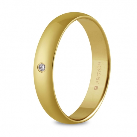 Alianza de boda oro 55401001