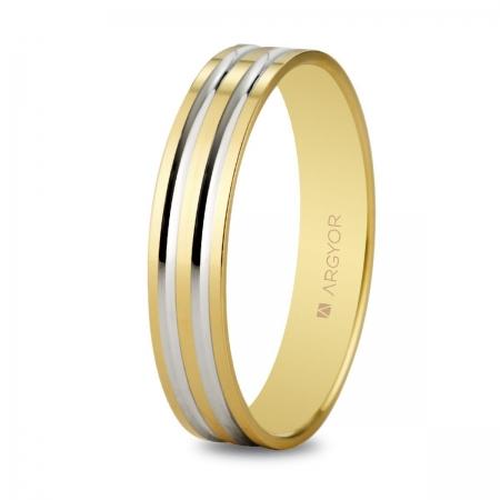 Alianza boda bicolor 5140210R
