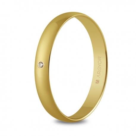 Alianza de boda oro 50302D