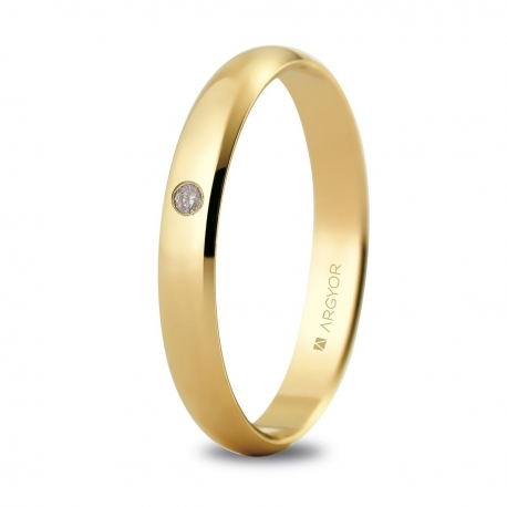 Alianza de boda oro 50305D