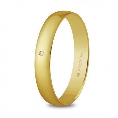 Alianza de boda oro 50353D