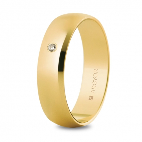 Alianza de boda oro 50505D