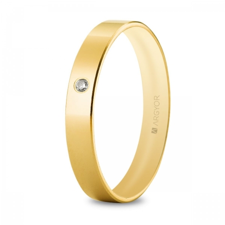 Alianza oro amarillo 5135514D