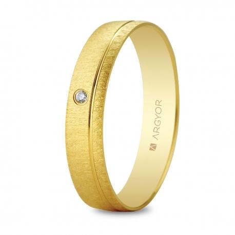 Alianza de boda con diamante 5145473D