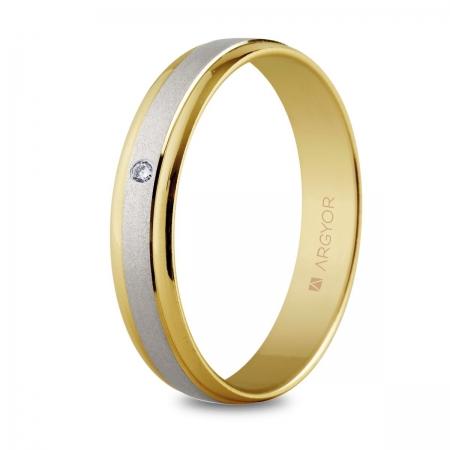 Alianza de boda 2oros 5240044D