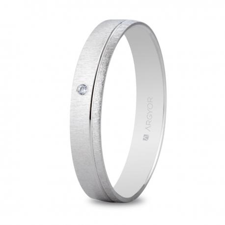 Alianza boda oro blanco 554B1473
