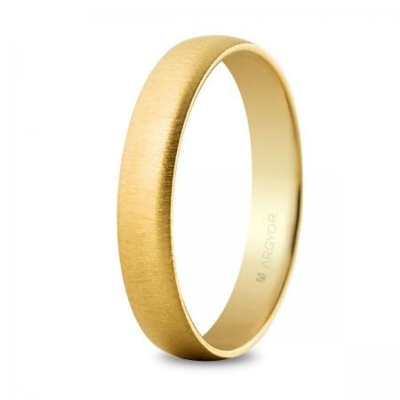 Alianza oro texturizada (5640001T)