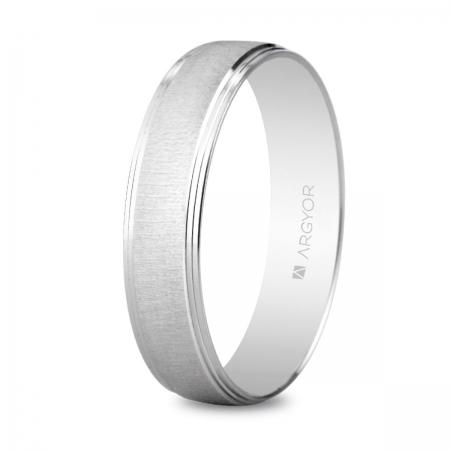 Alianza boda oro blanco 5B45466