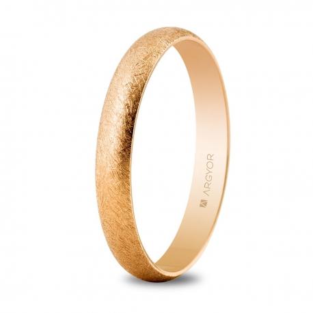 Alianza de boda oro rosa 5C305H