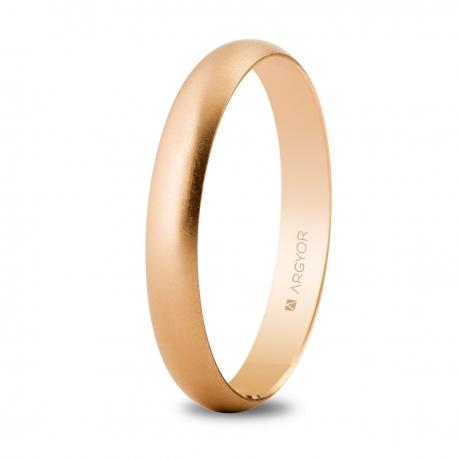 Alianza de boda oro rosa 5C305M