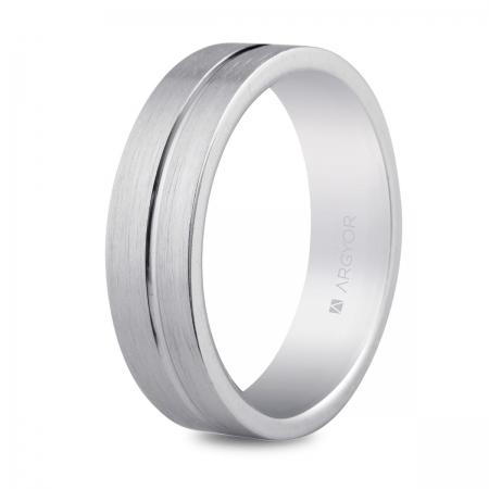 ALIANZA MOD. 5755053N. Alianza plata 5,5mm confort (5755053N)